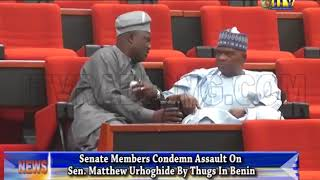 Senators Condemn Assault On Senator Urhoghide