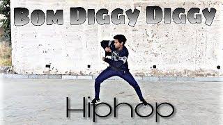 Bom Diggy Diggy -Hiphop Dance Choreography | Zack Knight , Jasmin Walia | Intermediate Level