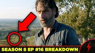Walking Dead 8x16 Breakdown - WHISPERERS REVEALED? (Season Finale Explained!)