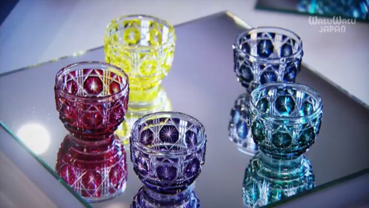 The Master Of Beauty In Kagoshima The World Of Satsuma Kiriko Cut Glass 2016 01 10 O A Youtube