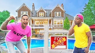I Bought A MILLION DOLLAR HOUSE and gave it to my BEST FRIEND.. (emotional)