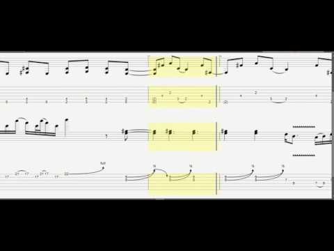 Metallica Enter Sandman Tab [Cover] - YouTube