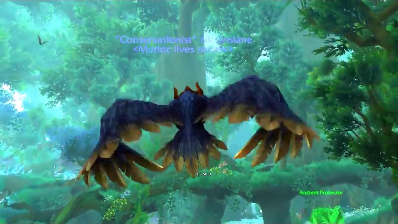 Druid flight form glyph. - YouTube