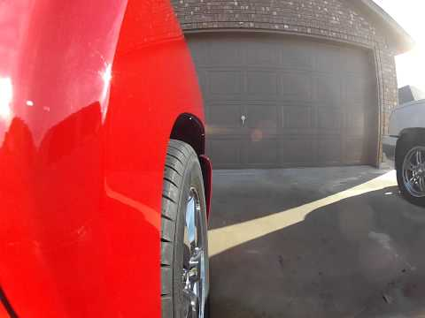 GoPro In The 'hood with my Silverado