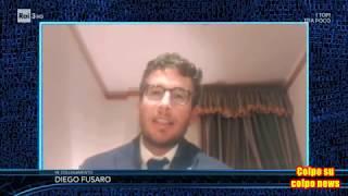 Gramellini spegne Fusaro in diretta su Rai 3 fingendo caduta Skype (Le parole della settimana)
