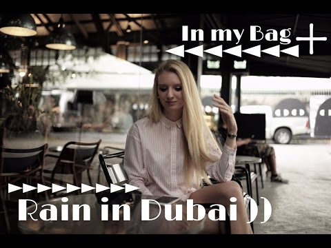 Emirates Cabin Crew - In my bag + Rain in Dubai )))