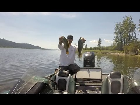 Bass Fishing On The Pend Oreille River