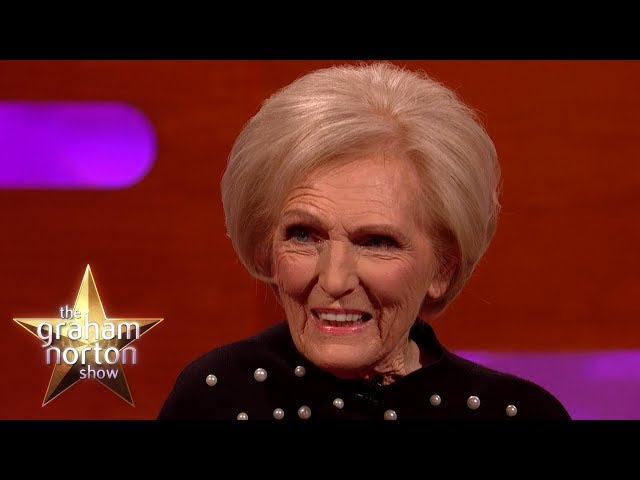 Mary Berry Was Once Arrested!   The Graham Norton Show