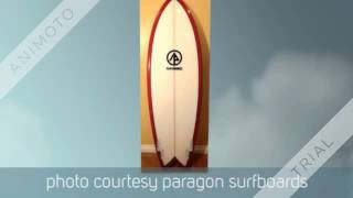 introducing different kind of surfboards
