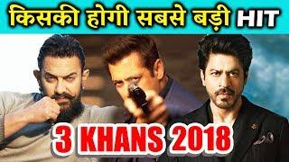 Thugs Of Hindostan Vs Race 3 Vs Dwarf - कौनसा KHAN मारेगा 2018 में बाज़ी | Salman, Aamir, Shahrukh