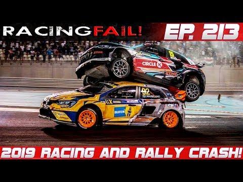 Racing And Rally Crash Compilation 2019 Week 213