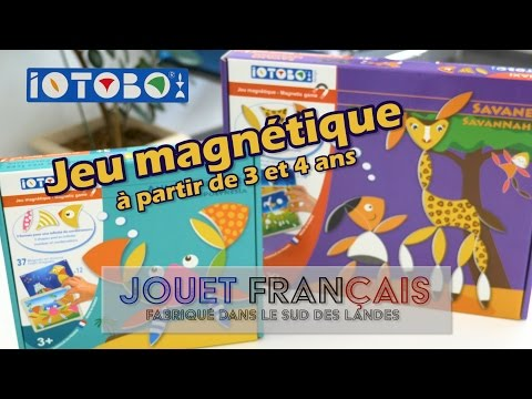Iotobo Jeu magnétique - Démo de 2 jeux en français