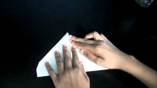 How To Make The Hawk Paper Airplane