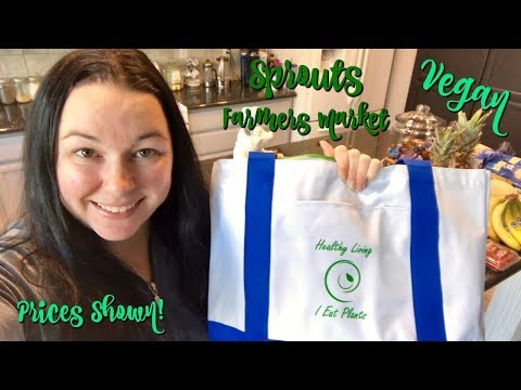Vegan Grocery Haul! | Sprouts Farmers Market | Prices Shown! | January 2018
