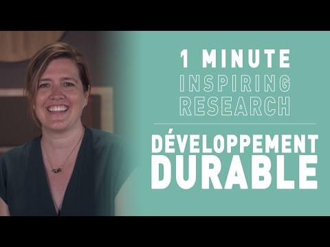 Kim CEULEMANS - Sustainable development