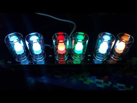 Building an RGB LED clock (from eBay)