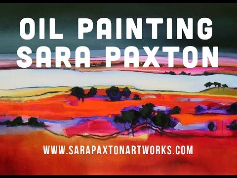 How to paint a landscape oil painting