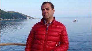 Медведев пропал