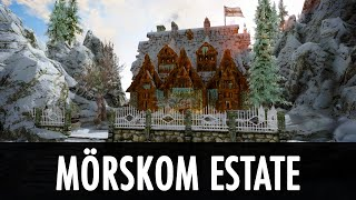 Skyrim Mod: Player Built Home - Mörskom Estate