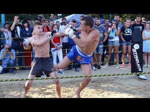 Very technically MMA fighter vs Boxer