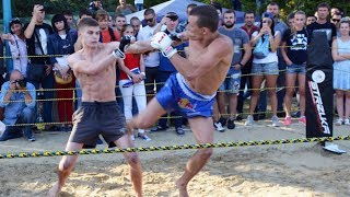Very technically MMA fighter vs Boxer