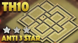TH10 War Base You Should Use For War | Best Town Hall 10 War Base 2017 | Clash Of Clans