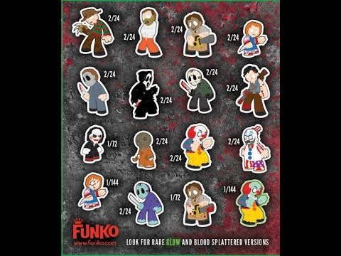 funko mystery minis horror classic series 1 part 1 youtube