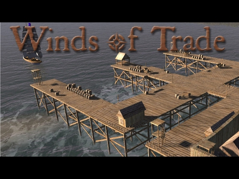 Winds of Trade Lets Play - New Ship and Making Money