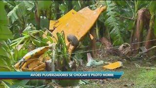 Baixar Piloto morre após aviões colidirem no ar, em Luiz Alves