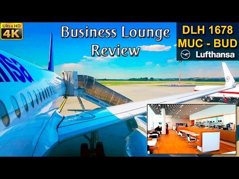 TRIP REPORT | Munich - Budapest | LUFTHANSA | BUSINESS Lounge |