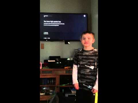 Message to Lizard Squad from my son #suckbutt