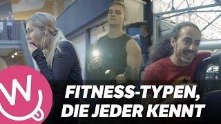 Fitness-Typen, die jeder kennt