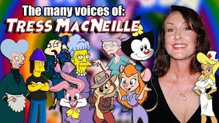 Many Voices of Tress MacNeille (Animaniacs / Tiny Toon Adventures / AND MORE!)