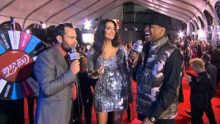 Bleona Qereti Red Carpet Interview - AMA 2012