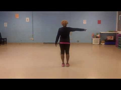 The Electric Slide 2 Line Dance Instructional