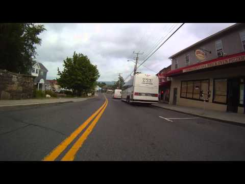 New Paltz, New York main st. video motorcycle tour