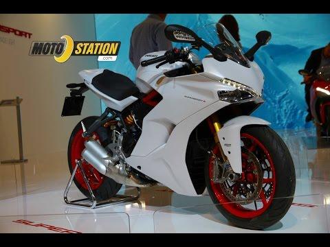 Intermot 2016, Ducati 939 Supersport 2017 : Sportive du