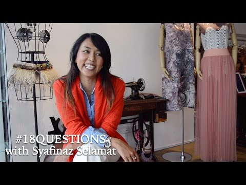 18 Questions with Syafinaz Selamat