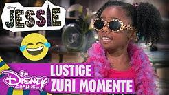 JESSIE - Lustige Zuri-Momente! | Disney Channel App 📱