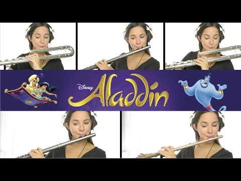 Aladdin: A Whole New World  Flute