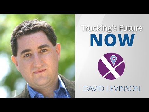 David Levinson talks about the changes in freight patterns in the future