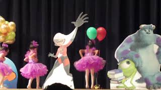 Ballet dance performance by kids at Recitle 2018.