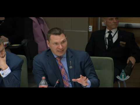 MLA Richard Gotfried - Budget Estimates: Economic Development and Trade Estimates