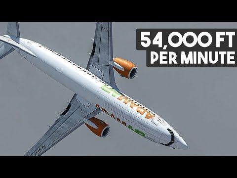 Boeing 737 Falls