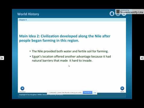 4.1 Geography and Ancient Egypt
