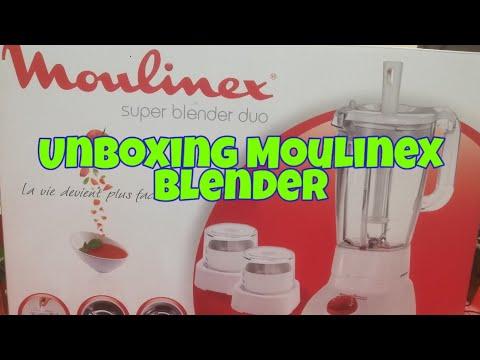 Unboxing Moulinex Blender