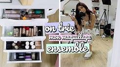 On Trie Mon Maquillage Ensemble (produits pour le teint)