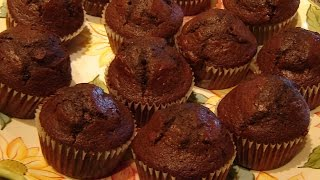 Chocolate Cherry Muffins By Diane Love To Bake