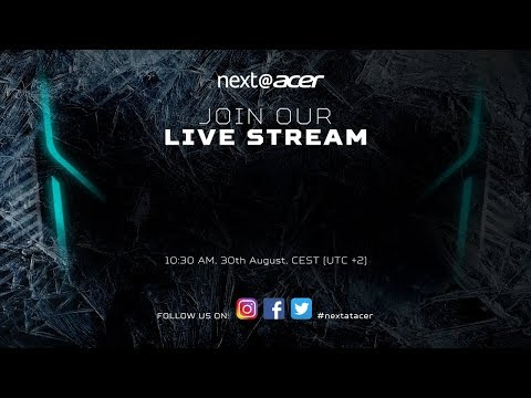 Next@Acer | IFA Berlin 2017 - Livestream