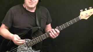 Learn How To Play Bass Guitar To China Grove   Doobie Brothers   Tirian Porter